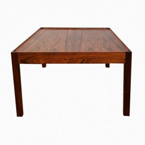 Vintage Danish Square Rosewood Coffee Table, 1960s