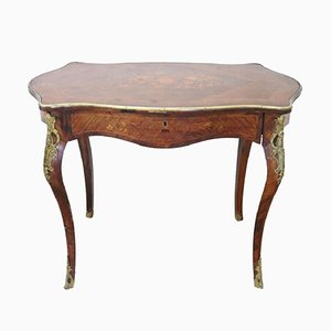 Napoleon III Walnut & Gilt Bronze Desk, 1870s
