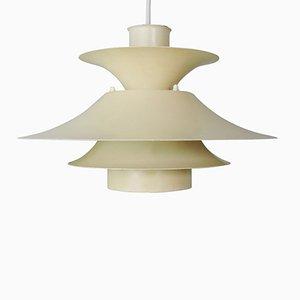 Lampada a sospensione Desiree color crema di Lyfa, anni '70