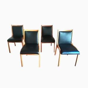 Cavour Dining Chairs by V.Gregotti, L. Meneghetti & G. Stoppino for SIM, 1960s, Set 4