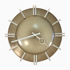 Industrial Office PPH 413 Wall Clock from Pragotron, 1980s