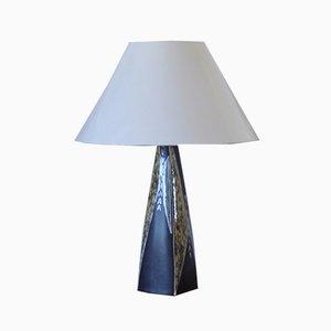 Grande lampe de Bureau en Céramique par Svend Aage Jensen pour Søholm, 1950s