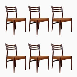 Vintage Dining Chairs by Svend Aage Madsen, Set of 6