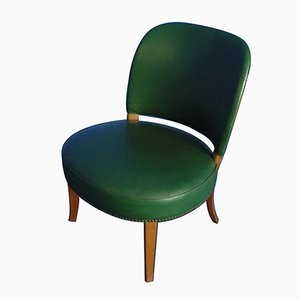 Mid-Century German Leatherette Chair, 1950s