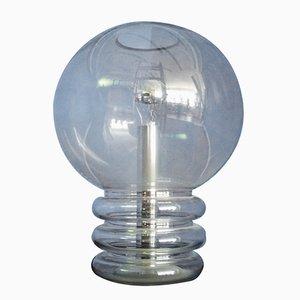 Lámpara de pie alemana de vidrio de Limburg, años 60