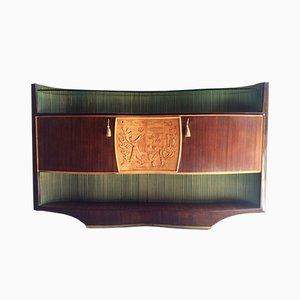 Credenza italiana de palisandro de Vittorio Dassi, años 50