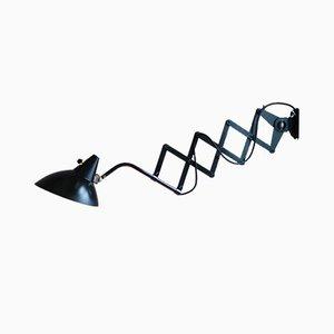 Lampe Ciseaux Noire par Christian Dell pour Helo, 1930s