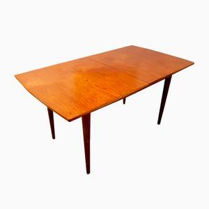 Tavolo da pranzo allungabile in teak di Nathan, anni '60