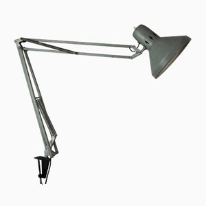 Vintage Grey Desk Lamp, 1960s