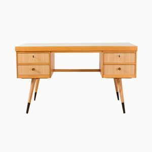 Verstellbarer deutscher Schreibtisch, 1950er