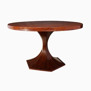 Italian Rosewood Dining Table, 1970s