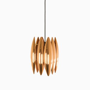 Copper Kastor Pendant by Jo Hammerborg for Fog & Mørup, 1960s