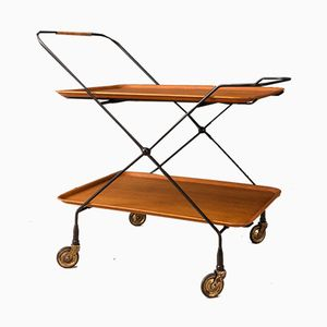 Serving Trolley by Paul Nagel, 1950s