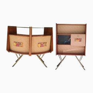 Vintage Barschrank, 1960er, 2er Set
