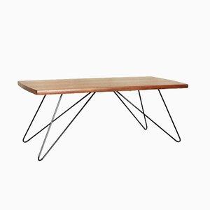 Table Basse Mid-Century Scandinave Moderne en Teck, 1970s