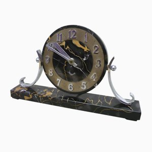 Art Deco Marble Clock, 1920s