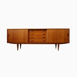 Danish Teak Credenza from Clausen & Son, 1950s