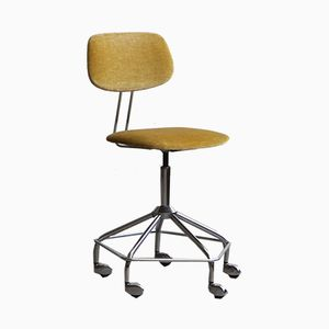 Chaise de Bureau Pivotante Moderniste, 1970s