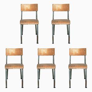 Chaises d'Enfants, 1960s, Set de 5