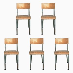 Children's Chairs, 1960s, Set of 5
