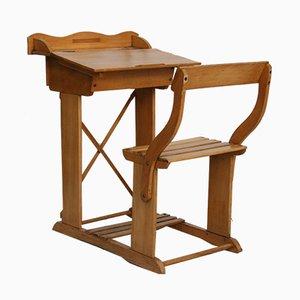 Vintage Kinder-Schreibtisch