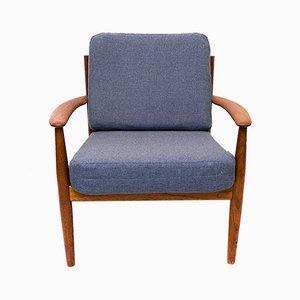 Dänischer Mid-Century Sessel aus Teak von Grete Jalk für France & Søn, 1960er