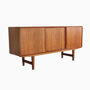 Teak Credenza by E.W. Bach for Sejling Skabe, 1960s