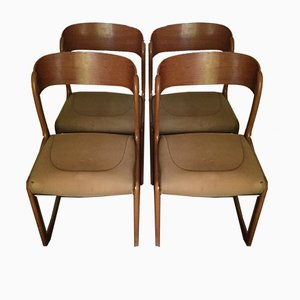 Sledge Dining Chairs from Baumann, 1960s, Set of 4