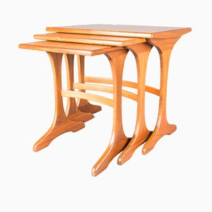 Vintage Fresco Nesting Tables in Teak from G-Plan