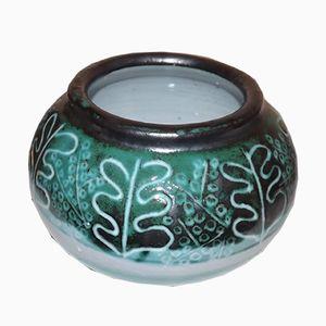 Mid-Century Keramikvase in Kugelform von Boleslaw Danikowski