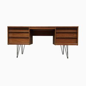 Furnierter Vintage Schreibtisch von Austinsuite