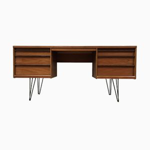 Vintage Veneered Desk from Austinsuite