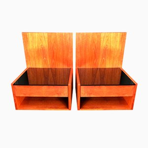 Nightstands by Hans J Wegner for Getama, 1960s, Set of 2
