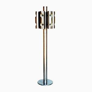 Lámpara de pie vintage de Fontana