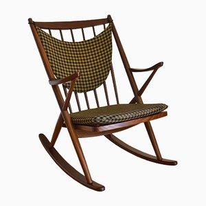 Rocking Chair Modèle 182 par Frank Reenskaug pour Bramin, 1960s
