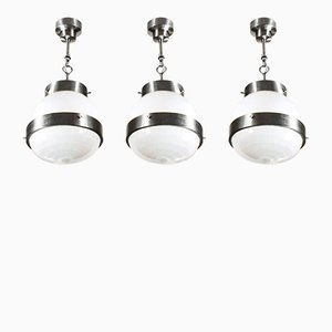 Small Delta Lanterns by Sergio Mazza for Artemide, 1960s, Set of 3
