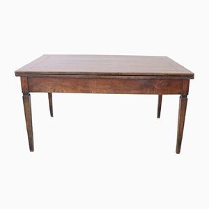 Louis XVI Walnut Dining Table, 1780s