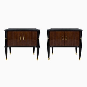 Italian Night Stands, 1940s, Set of 2