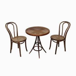 Bentwood Living Room Set from Thonet, 1920s