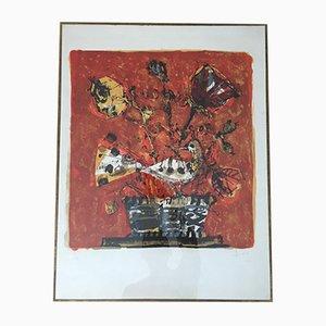 Impresión litográfica vintage de Paul Aizpiri