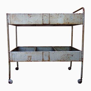 Industrial Bar Cart, 1950s