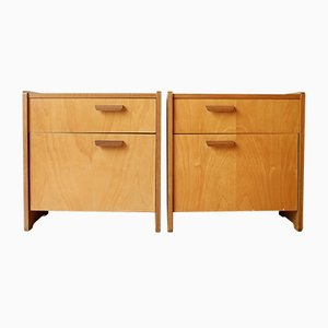 Nightstands from WK Möbel, 1950s, Set of 2