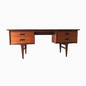 Teak Codan Desk by John J. Herbert for Younger, 1960s