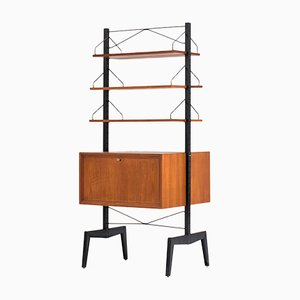 Royal System Freestanding Wall Unit by Poul Cadovius, 1960s