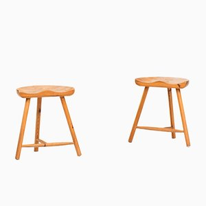 Stools by Arne Hovmand Olsen, 1960s, Set of 2