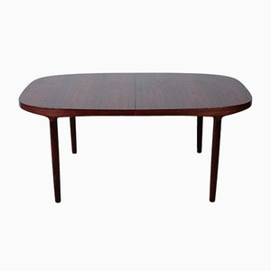 Mid-Century Rosewood Dining Table by Harry Østergaard for Randers
