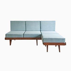 Vintage Czech Sofa Bed by František Jirák, 1964