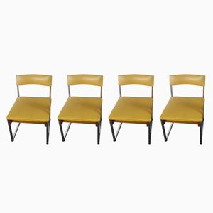 German Dining Chairs, 1970s, Set of 4