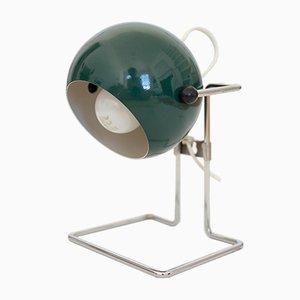 Danish Pop Art Bubble Lamp in Dark Green by P Bosque for Abo Randers, 1970s