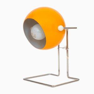 Danish Pop Art Bubble Lamp in Yellow by P Bosque for Abo Randers, 1970s